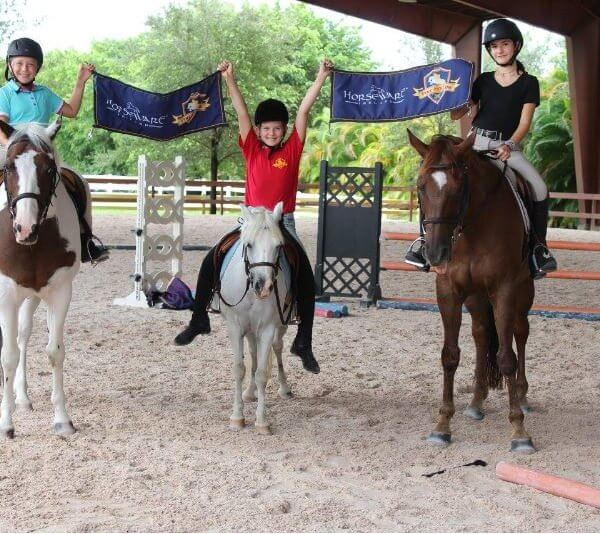 PH Lesson Program kids with horses