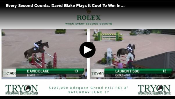 Every Second Counts: David Blake Plays It Cool To Win In Tryon