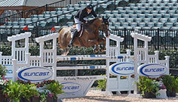 Blake and Binkie Keep Irish Win Streak Alive in $34,000 Suncast® Welcome 1.50m FEI