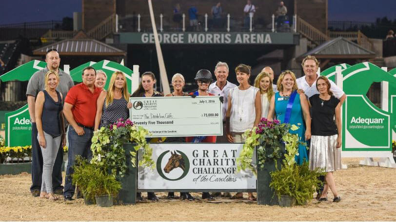 Great Charity Challenge recipients