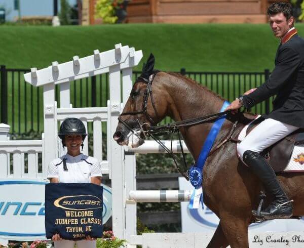 David Blake on horse