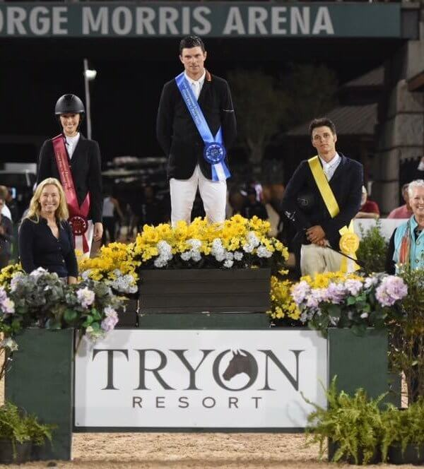 Winners of event at Tryon Resort